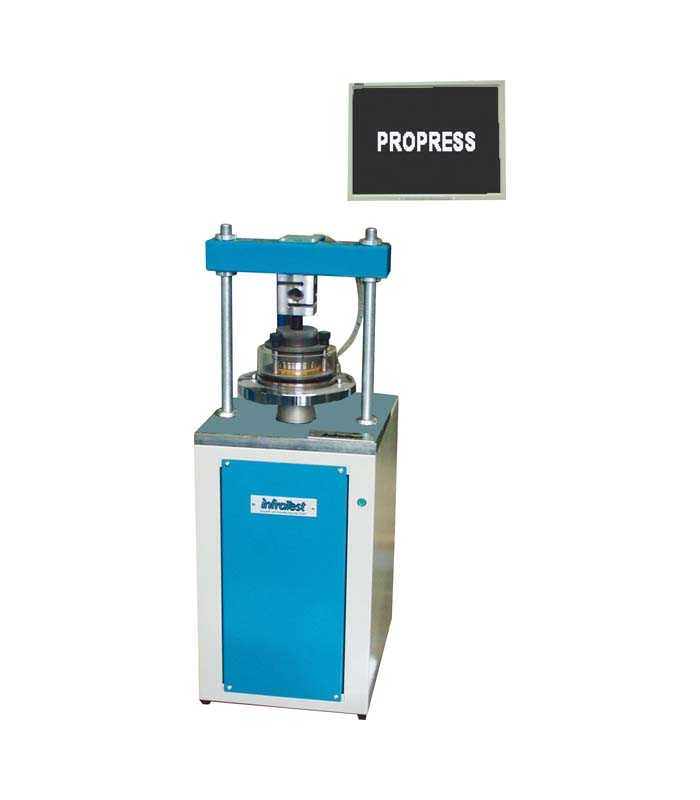 Appareil automatique de compression \ ASTM|ASTM D|ASTM D 2435|ASTM D 4546|BS|BS 1377|DIN|DIN 18135 \ Cellule oedométrique / Cadres d´Essai Consolidation \ PROPRESS