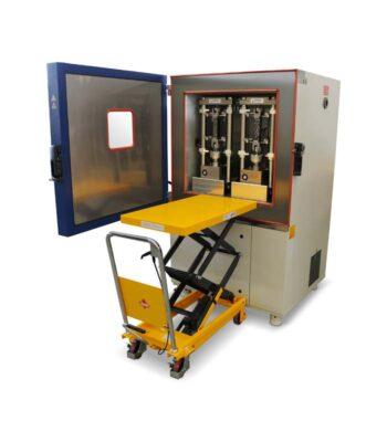 TRAVIS Testing System  simple  Low temperature cracking and properties by uniaxial tension tests