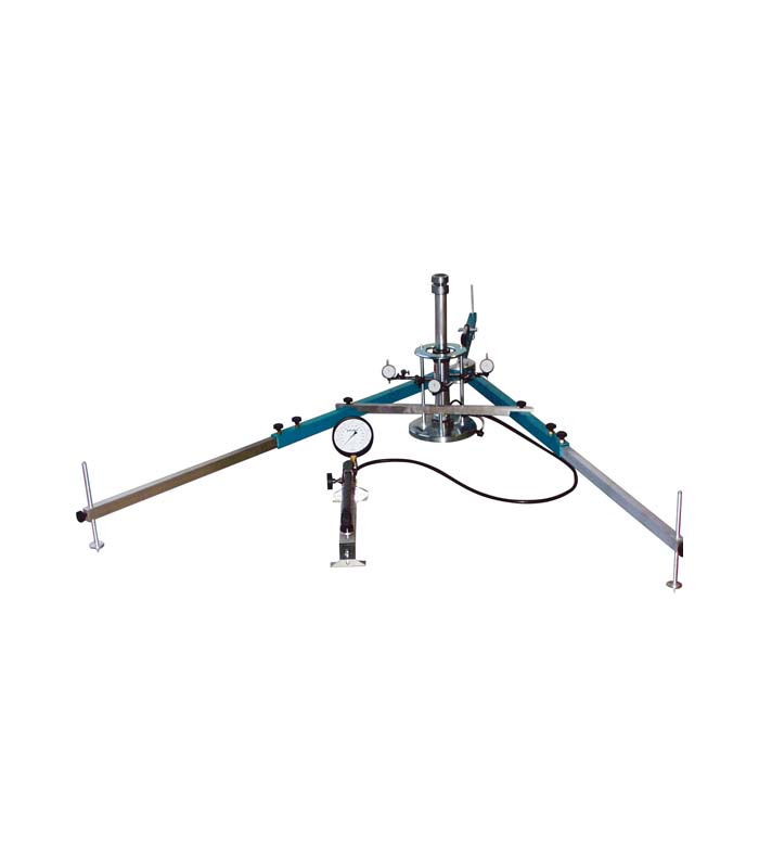 Plattendruckgerät 100kN 3-Uhr \ ASTM|ASTM D|ASTM D 1195|ASTM D 1196 \ \ Feldprüfgeräte \ Plattendruckgerät