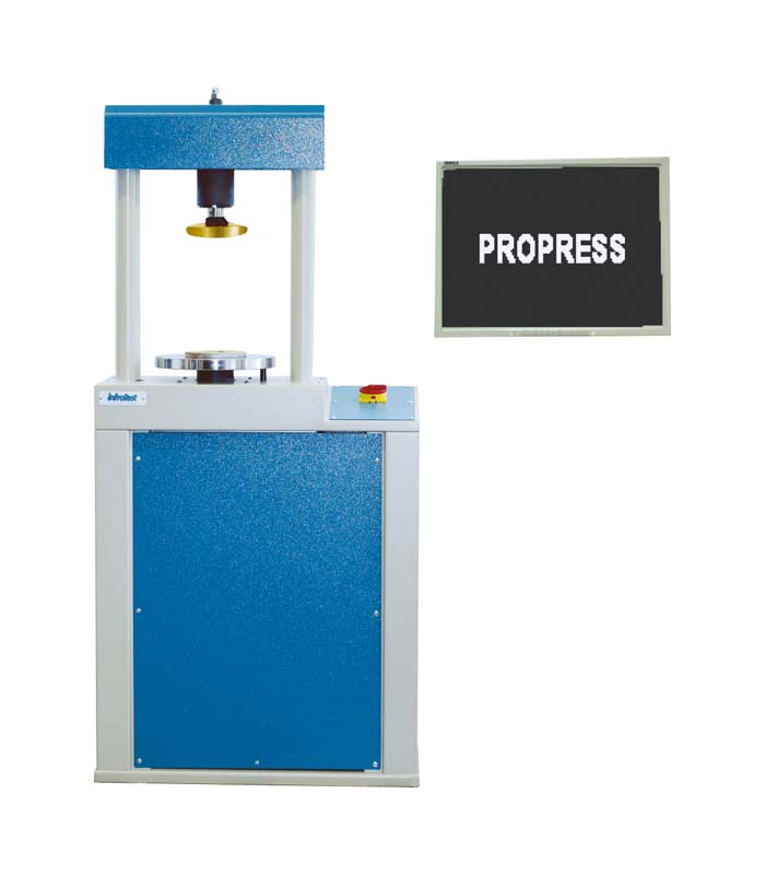 Unconfined Compression Tester 10 kN PC \ DIN|DIN 18136|EN|EN 17892|EN 17892/7 \ Geotechnical investigation and testing - Laboratory testing of soil - Unconfined compression test \ Uniaxial Compression Testing Machine \ PROPRESS