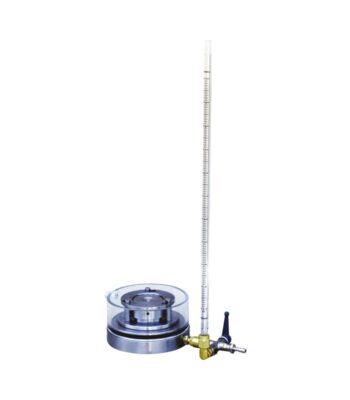 Oedometerzelle Ø112,8mm mit Bürette \ ASTM|ASTM D|ASTM D 2435|ASTM D 4546|BS|BS 1377|DIN|DIN 18135 \ \ Oedometer/Konsolidationsprüfstände \ Oedometerzelle