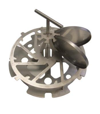 Einsatzgestell für PAV-Schalen zu 20-5000 \ \ \ Extraktion \ Edelstahl|Einsatzgestell