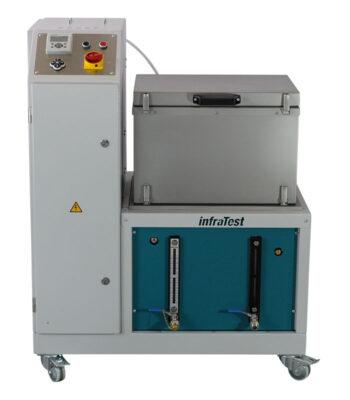 Bitumen-Spülmaschine 2016 \ \ Entfernung von Bitumenrückständen an Kleinteilen und Glaswaren mit nichtbrennbaren Lösemitteln (TRI, PER) \ Extraktion \ Bitumen Spülmaschine