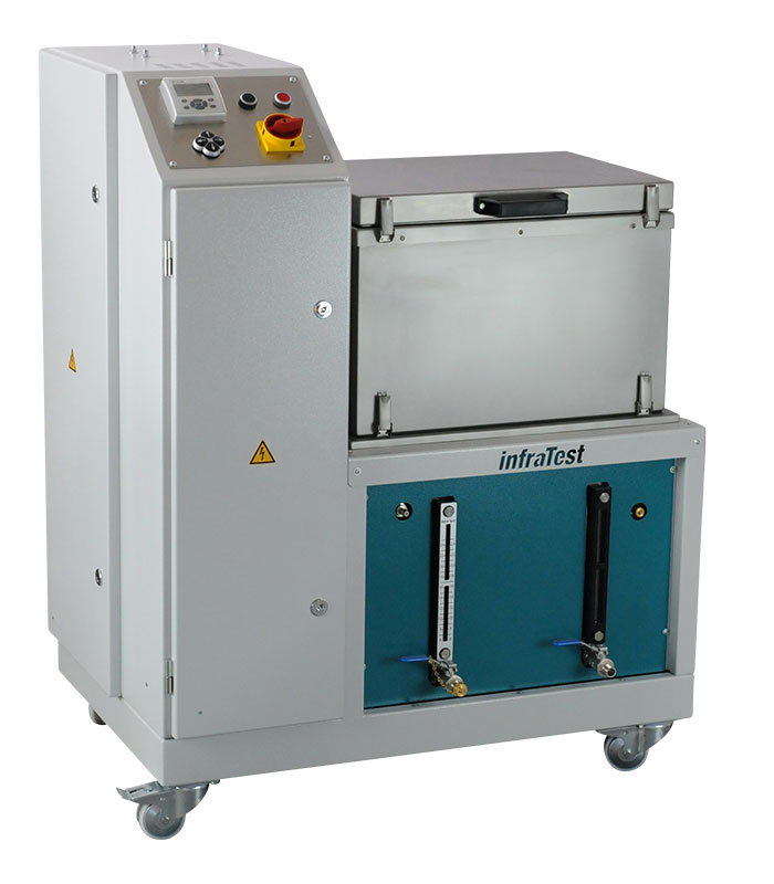 Bitumen Washing Machine 2016 \ \ Cleans bitumen polluted containers, glass flasks etc. using trichlorethylene in a closed system (TRI, PER) \ Extraction \ Bitumen Washing Machine