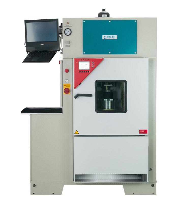 Compact Dynamic Testing Machine 10kN \ EN|EN 12697|EN 12697/24|EN 12697/25|EN 12697/26 \ \ Performance Tests \ Compact Dynamic Testing Machine