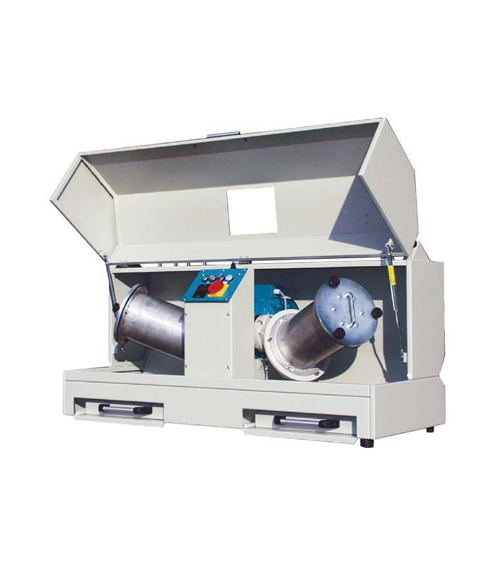 Deval Abrasion Test Machine \ ASTM|ASTM D|ASTM D 2-33|NF|NF P|NF P 18|NF P 18-577 \ \ Abrasion Testing Machines \ Abrasion