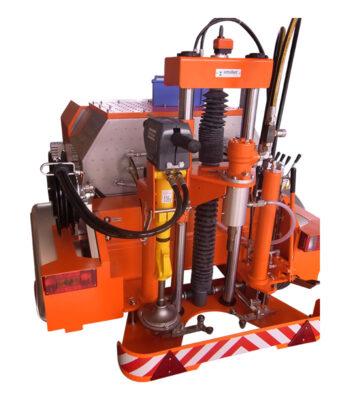 Erweiterung KBG mit Hydraulikhammer \ \ \ Straßenkernbohrgeräte \ Hydraulikhammer