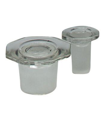 Plug, Glass \ \ \ Extraction \ Octagonal plug