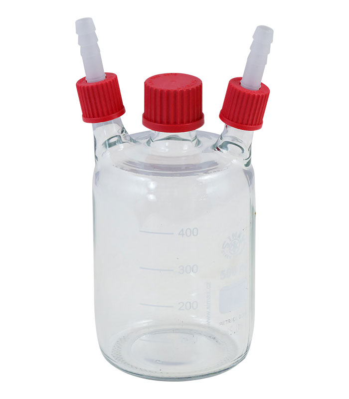 Vacuum Glass Bottle 500ml with 3 connectors \ \ \ Extraction \ Bottle|Woulff