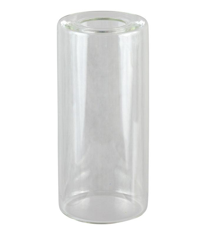Glass Test Cup RTFOT - concave opening \ \ \ Bitumen \ Glass Test Cup RTFOT