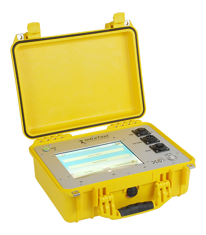 In-Situ Datalogger 2016 \ DIN|DIN 18134 \ \ Field Testing Machines \ Evaluation device