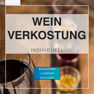 Luxusgewinnspiel infraTest Prüftechnik Weinverkostung Cleebronn Güglingen